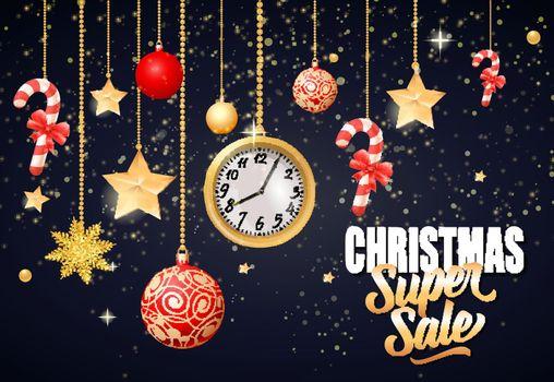 Christmas Super Sale Inscription