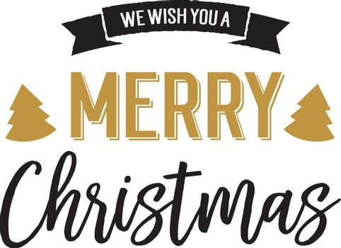 Christmas holiday lettering