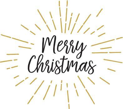 Christmas lettering in lights