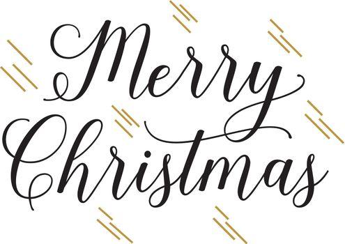 Merry Christmas handwritten text