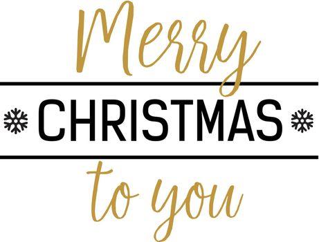 Merry Christmas to You Inscription