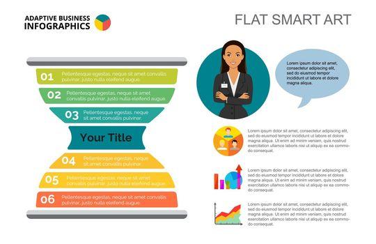 Sandglass Infographics Slide Template