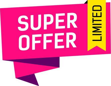 Super Offer Limited Creative Banner