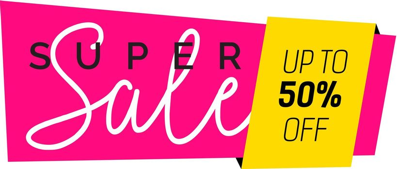 Super Sale Creative Banner Design