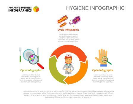 Three Hygiene Options Slide Template