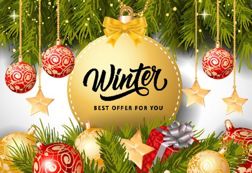 Winter Best Offer Inscription