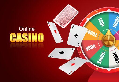 Online casino lettering, wheel of fortune