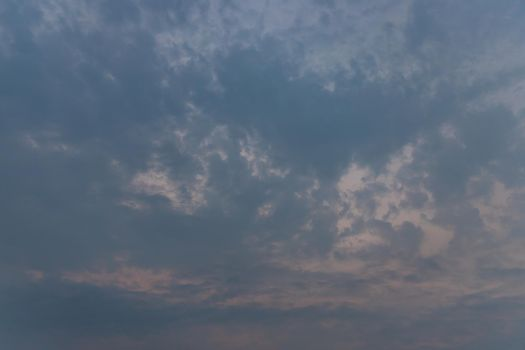 Beautiful sky with clouds background. The softness of the clouds and the brightness of the sky.
