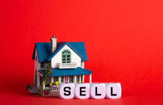 To sell a house. Real estate property.