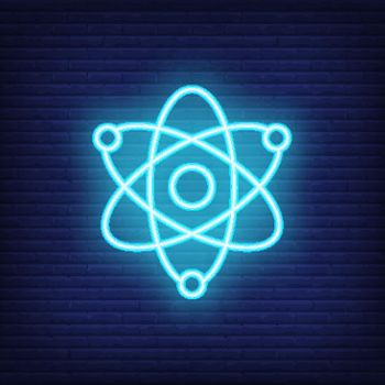 Physics neon sign
