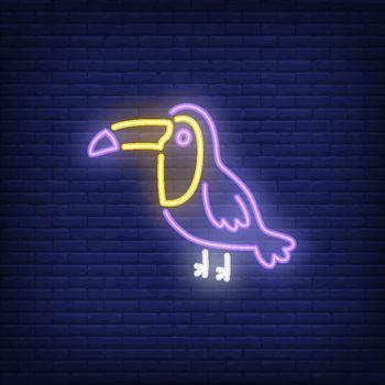 Toucan neon sign