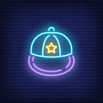 Snapback neon sign