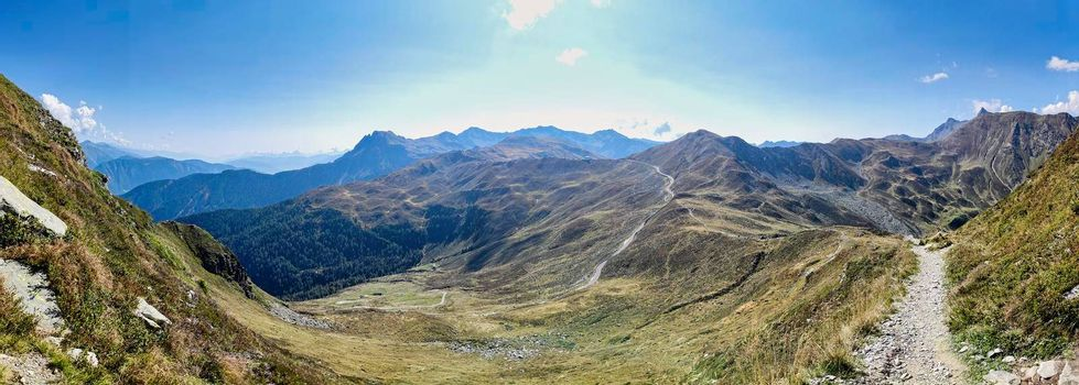 South Tyrolean Alps in autumn