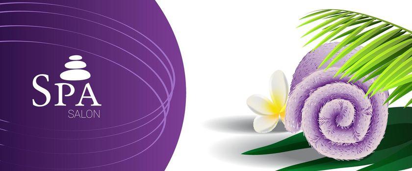 Spa salon promotion banner design