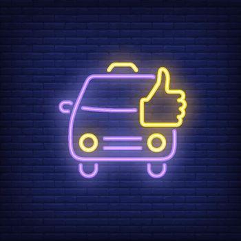 Good taxi neon sign