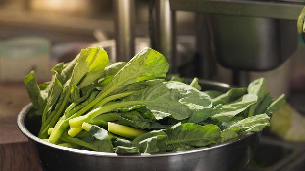 Kale vegetable prepared