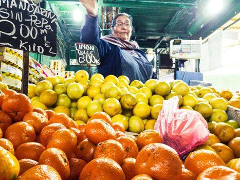 Wholesale market for fruit supply El trebol - Caqueta