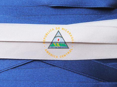 Nicaragua flag or banner