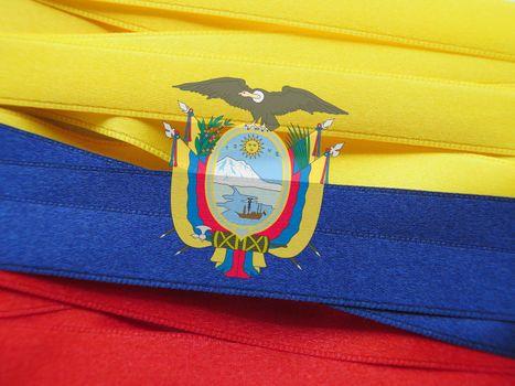Ecuador flag or banner