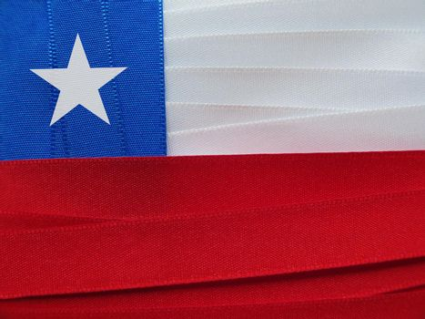 Chile flag or banner