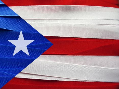 Puerto Rico flag or banner