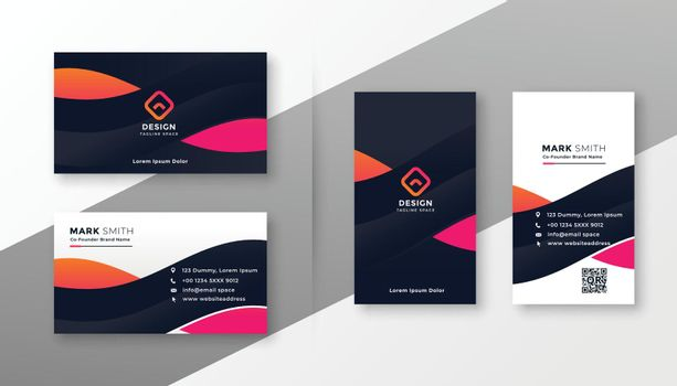 stylish corporate card design for your business