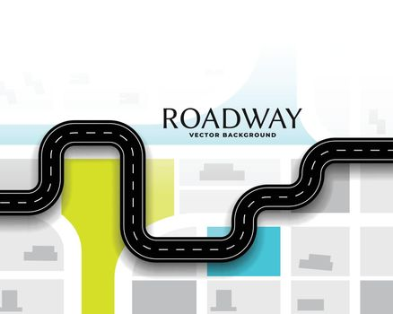 journey route road map concept background design