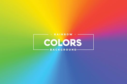 colorful conical color shades vibrant background design