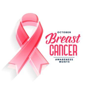 breast cancer awareness month poster design concept