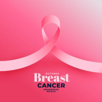 pink background for breast cancer awareness month