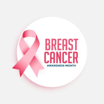 breast cancer awareness month campain poster design