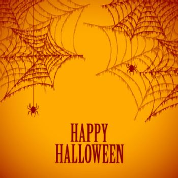 halloween spider cobweb spooky and scary background