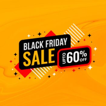 black friday sale and discount banner design