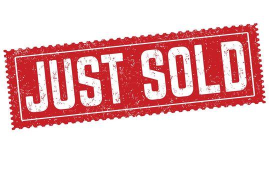 Just sold grunge rubber stamp