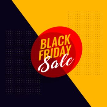 black friday sale modern banner design