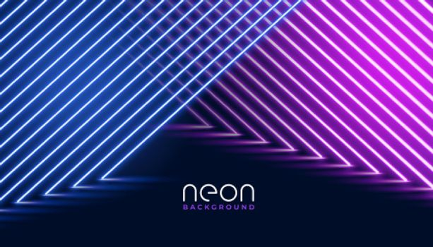 neon diagonal lines purple and pink background
