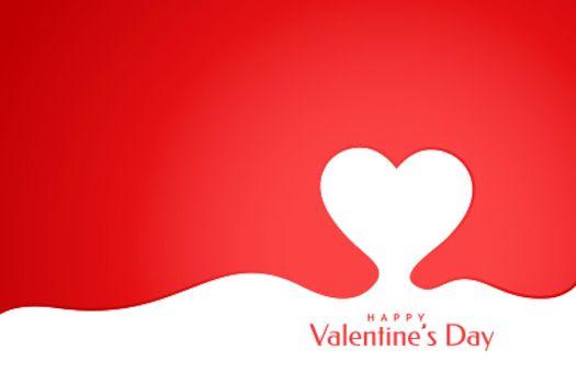 creative happy valentines day heart background design