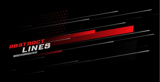 abstract sporty lines background design