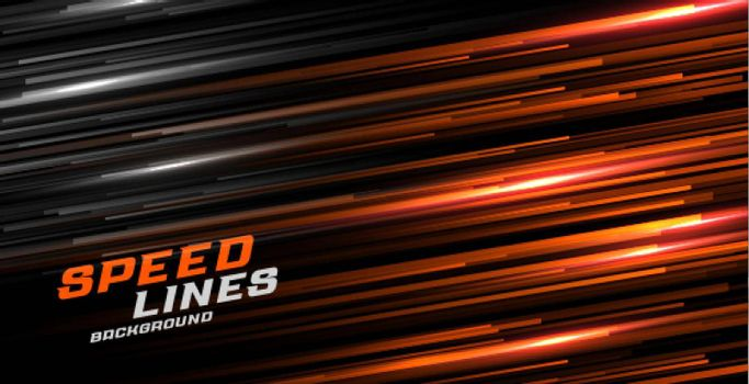 speed motion glowing lines background