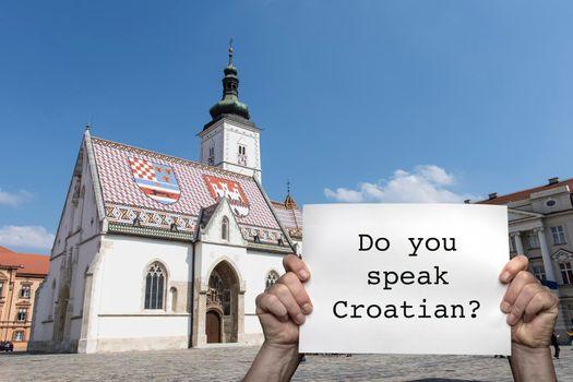 Do you speak Croatian?
