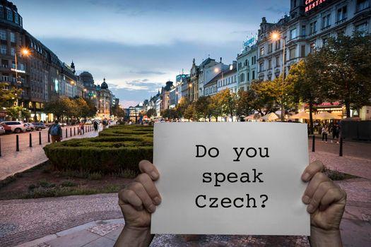 Do you speak Czech?