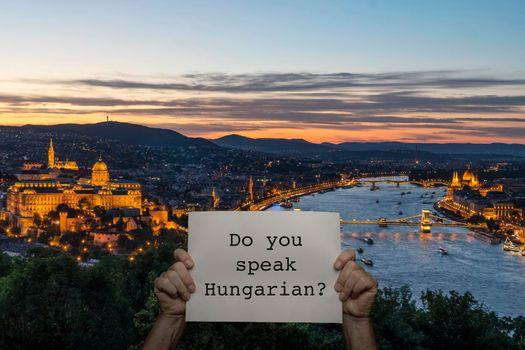 Do you speak Hungarian?