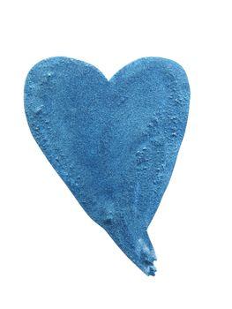heart shaped paint