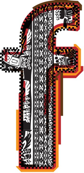 Inca`s font letter f