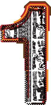 Inca`s font Number 1