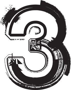 Grunge Font NUMBER 3