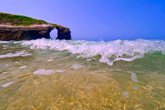 Beach of the Cathedrals, Spain, Europe