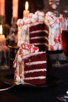 Creepy cakes on Halloween