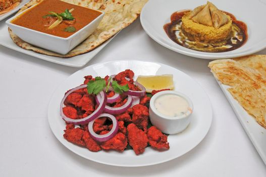 Indian cuisine dish known as chicken 65