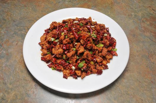 Delicious cuisine best known as spicy chicken
